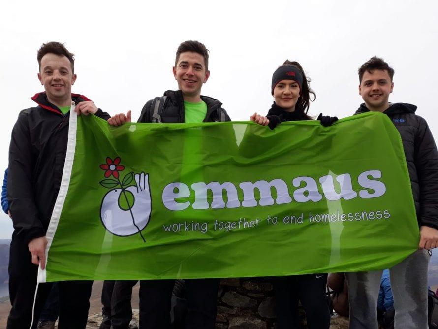 Graduates climbing Snowdon