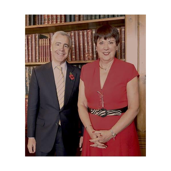 Nigel Howell and Dame Judith Hackitt