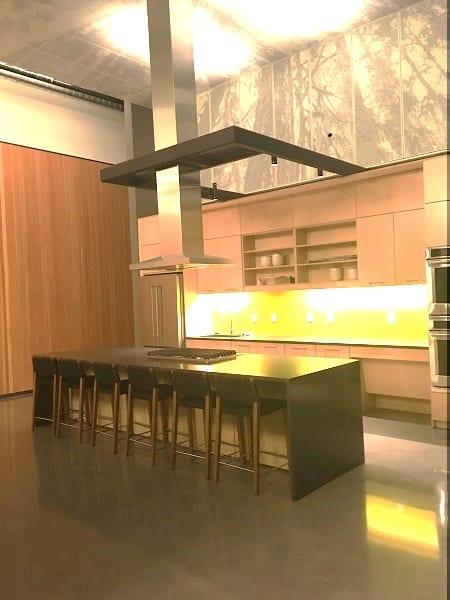 Heartline's communal kitchen