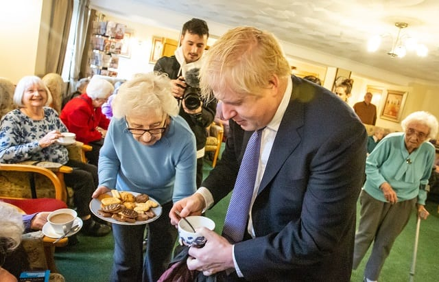 Boris Johnson visit